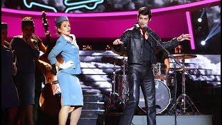 Carlos Baute imita a Elvis Presley en 'It´s now or never'- Tu Cara Me Suena