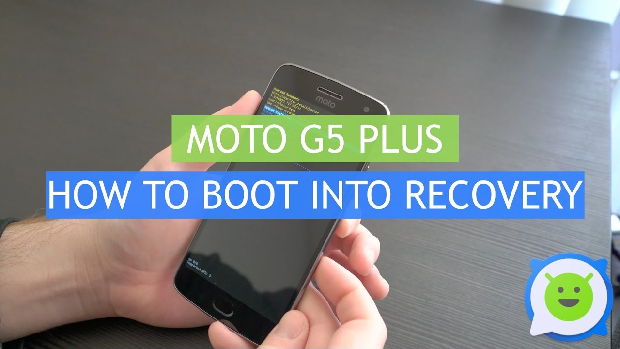Moto G5 Plus – How to boot into recovery (and factory reset)
