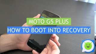 Moto G5 Plus - How to boot into recovery (and factory reset)