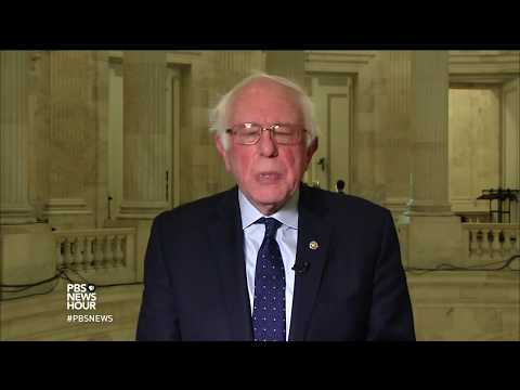 Sen. Bernie Sanders on how Democrats see the state of the Union under Trump