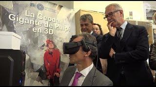El ministro de Ciencia, Pedro Duque, ha visitado la UAL junto al ministro de Cultura, José Guirao