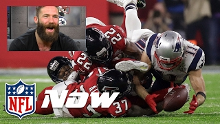 Julian Edelman Does Play by Play for His Super Bowl LI Catch (and few other plays) | NFL Now