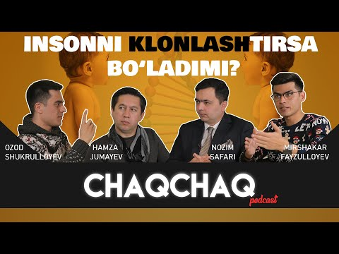 CHAQCHAQ   INSONNI KLONLASHTIRSA BO'LADIMI?   6-son