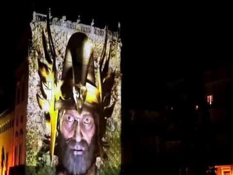 VIDEO MAPPING - PALAU DE LA GENERALITAT VALENCIANA - colaboracion con Videomapping Pro 2016