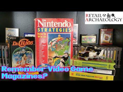 Remember Video Game Magazines? | Nintendo Strategies | Retail Relics