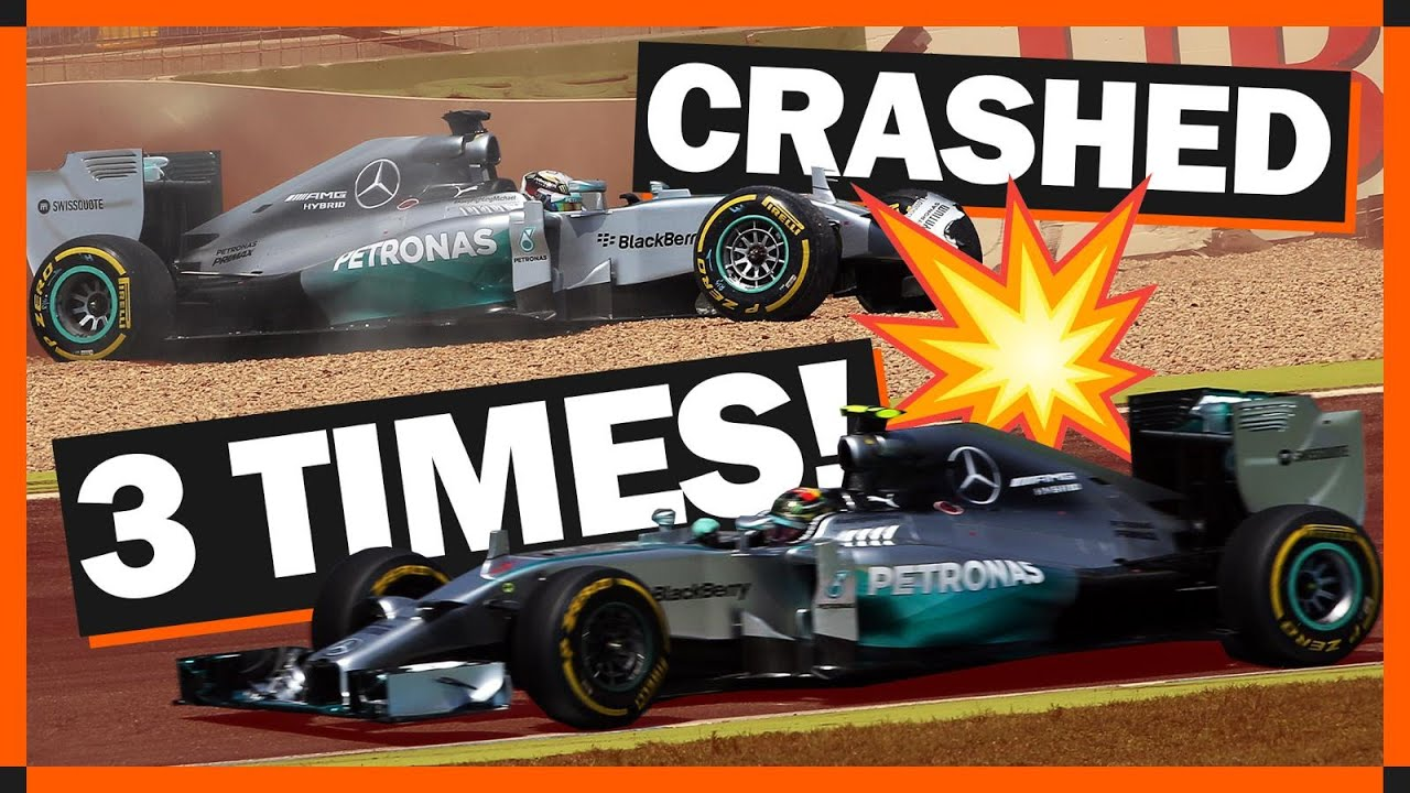 7 Times F1 Title Rivals Crashed