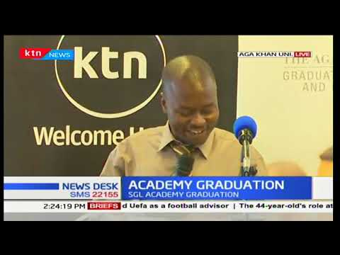 Standard Media Group holds the SGL Academy graduation