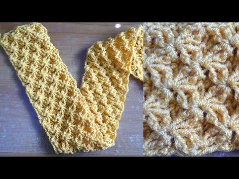Shining Star Crochet Stitch - Crochet Tutorial