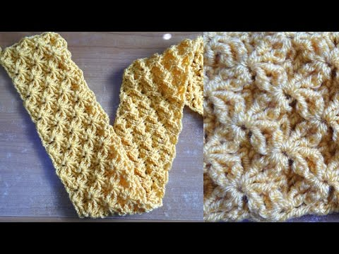 Shining Star Crochet Stitch – Crochet Tutorial