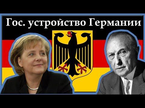 Интересно о государственном устройстве Германии. Политическая система ФРГ