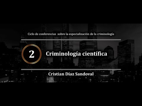 Criminología científica