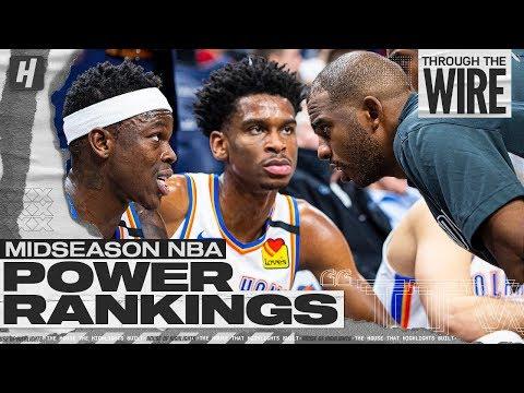 Midseason NBA Power Rankings | Through The Wire Podcast