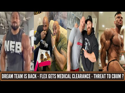 Flex Lewis gets clearnace form Doctors - Is Peter Molnar a threat for Cbum ? DJ/Ramy team together.