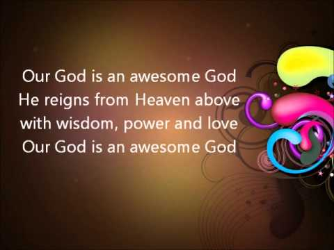 He Reigns Awesome God  Instrumental