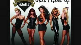 When i grow up - Pussy Cat Dolls (lyrics)