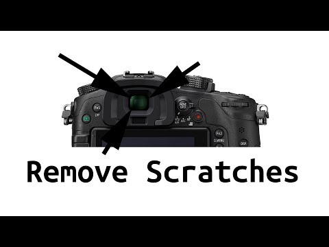 Remove Scratches from Viewfinder