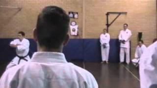 Combined Canberra Region Karate Dojo Training Session