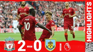 Highlights: Liverpool 2-0 Burnley   Jota & Mane score as the fans return to Anfield