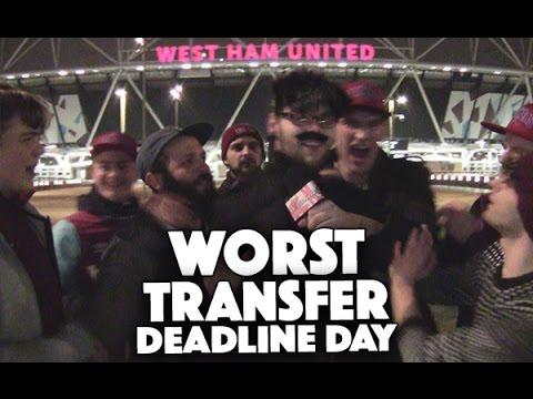 Worst Transfer Deadline Day Ever (SPOOF) | Rebellious Noise