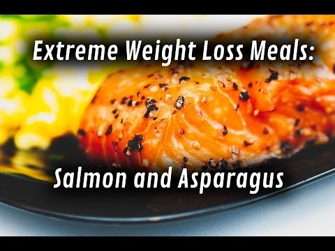 Extreme weight loss meals salmon and asparagus youtube extreme weight loss meals salmon and asparagus ccuart Images