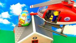 Fireman Sam and Paw Patrol Surprise  फ़ायरमैन सैम, हस्त गश्ती, आश्चर्य अंडे