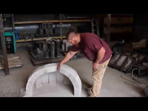 Wood Fired Pizza Oven out of Clay