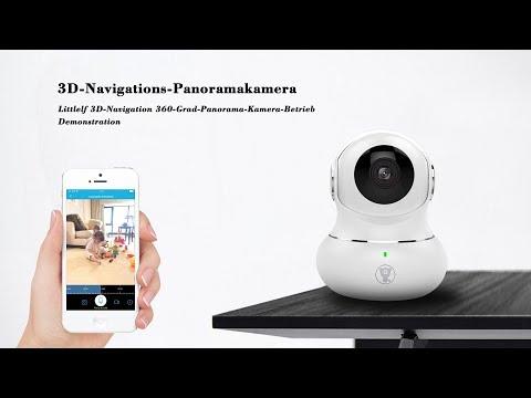 littlelf 3D-Navigation 360-Grad-Panorama-Kamera-Betrieb Demonstration