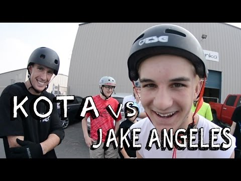 KOTA VS Jake Angeles | TEAM GAME OF SCOOT
