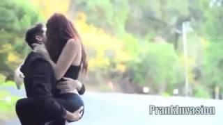 Kiss me *prank