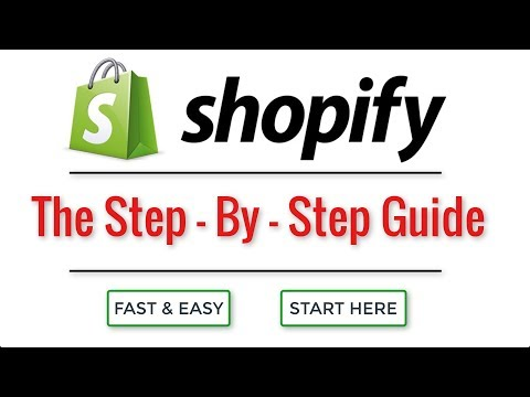 How to create a Shopify Store in 27 SIMPLE Steps | 2019 Shopify Tutorial for Beginners
