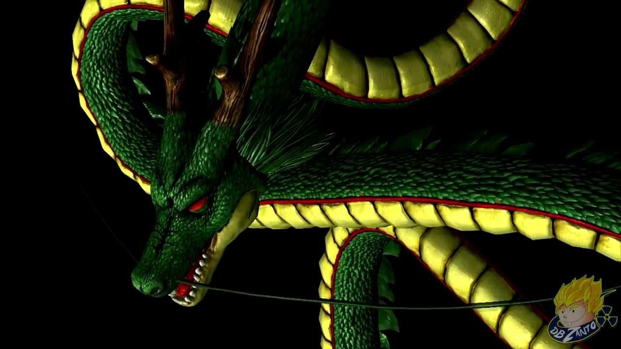 Dragon Ball Z Ultimate Tenkaichi Summon Shenron Porunga All