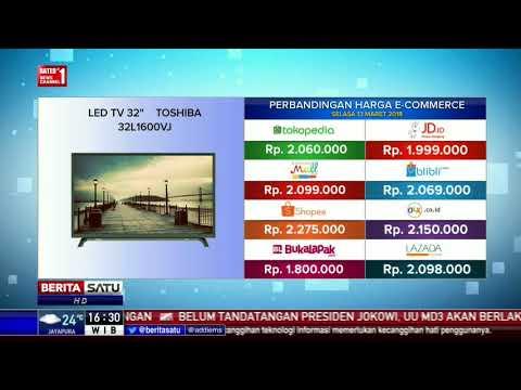 Perbandingan Harga E-Commerce: LED TV 32 Toshiba 32L1600VJ
