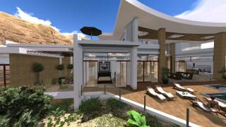 Modern Villa Design in Muscat Oman by Jeff Page of SLD Architects, UAE 2013