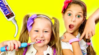 Put On Your Shoes Song | Morning Routine Brush Your Teeth and Hurry Up to school | Eva Songs
