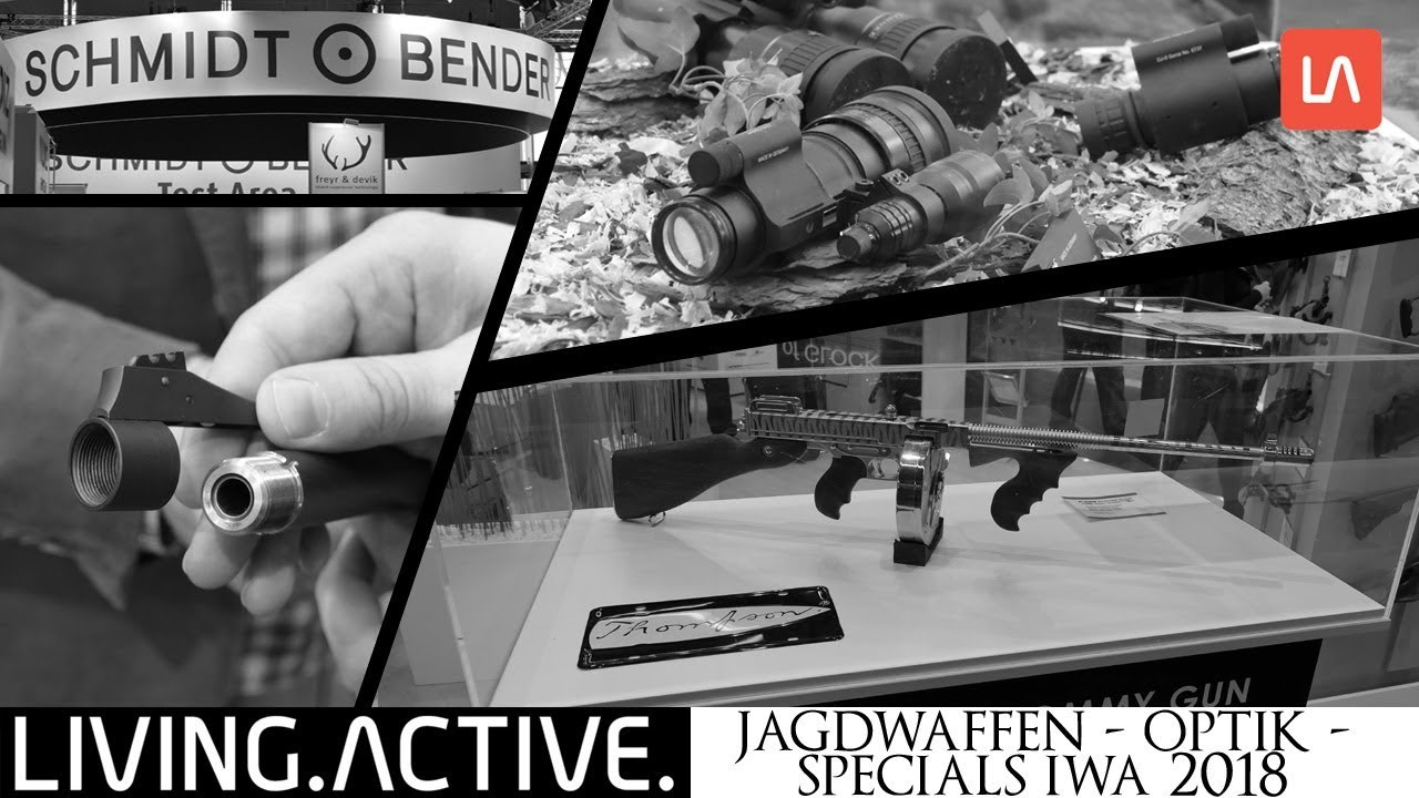 Living active jagdwaffen optik specials iwa youtube