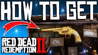RDR2: How To Get  SECRET GOLD REVOLVER - Best Weapon In Game - Otis Miller Revolver - Full Guide