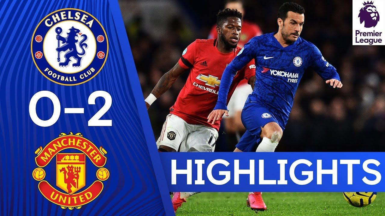Chelsea 0-2 Manchester United | Premier League Highlights