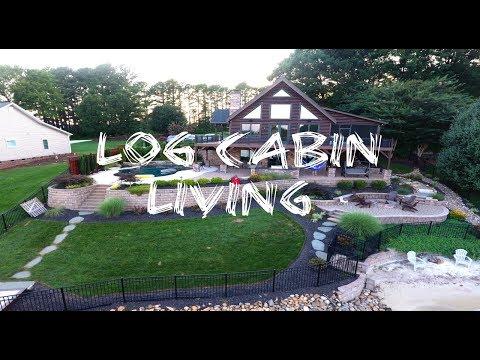 Log Cabin Living on Lake Norman