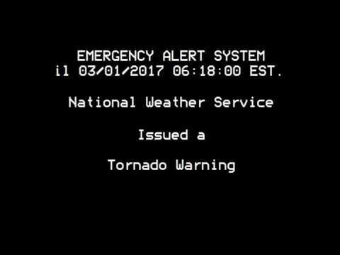 Tornado Warning EAS: Akron, OH