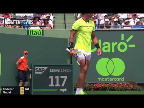 Roger Federer Vs Rafael Nadal   Miami 2017 Final Highlights HDvia torchbrowser com