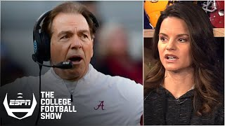 'Alabama is done' after loss to LSU - Heather Dinich | The College Football Show