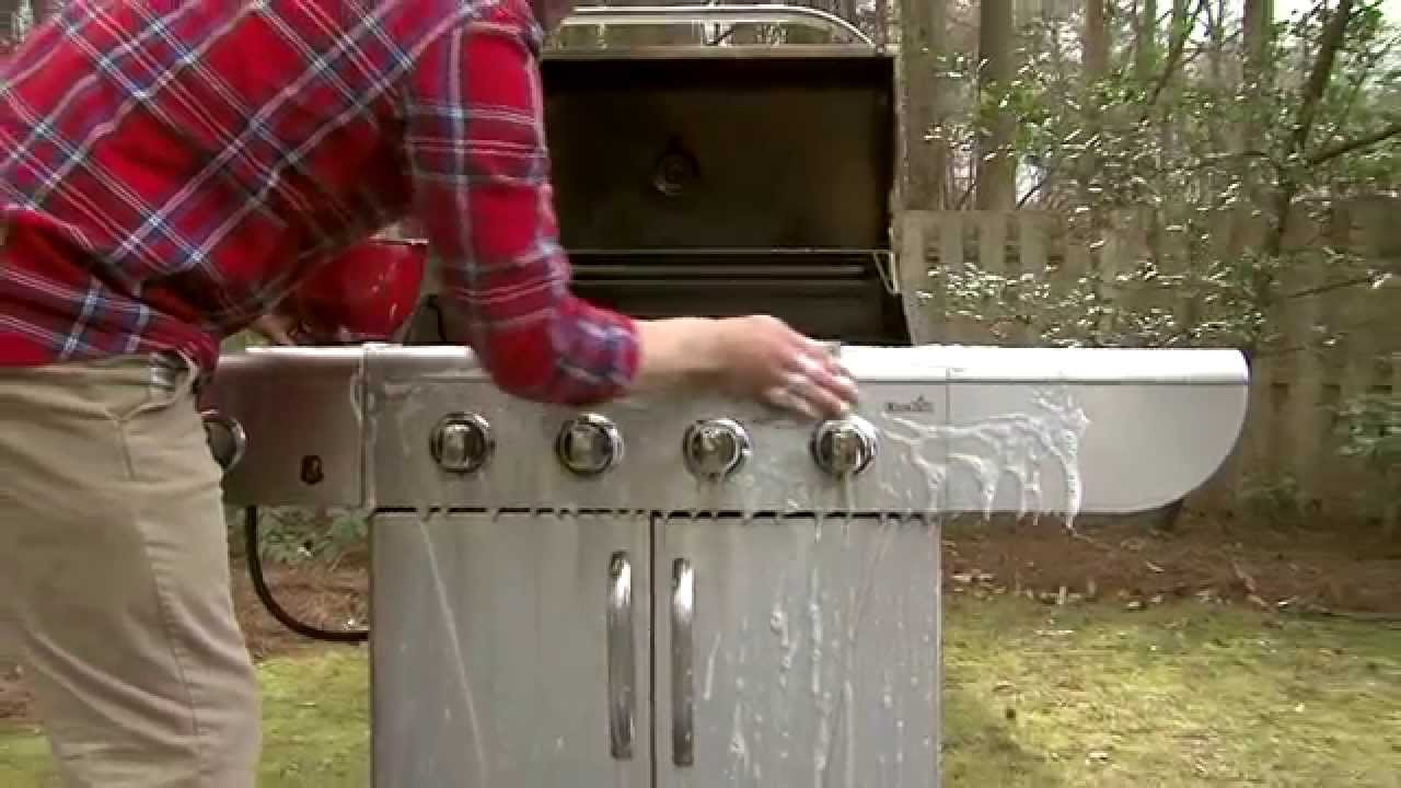 How To Clean Your Gas Grill You