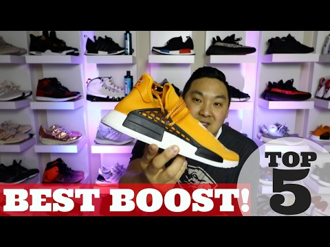 TOP 5 BEST ADIDAS BOOST SNEAKERS (COMFORT)