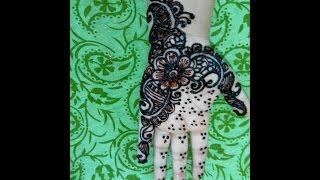 How To Make Henna Mehendi Designs Bridal Mehendi - Mehndi Design Tutorials