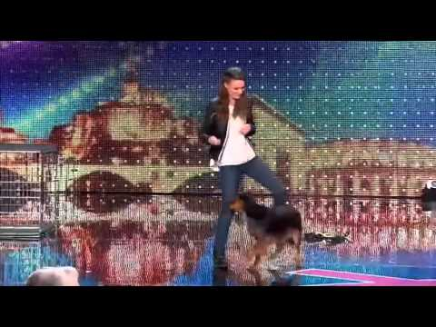 This 19-Year Old Girl Does Dog Show With Her Adopted Dog & Shocks Everyone - France's Got Talent