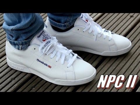 Reebok NPC II - Review \u0026 on feet - YouTube