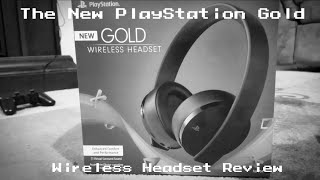 The New PlayStation Gold Headset : Indepth Review
