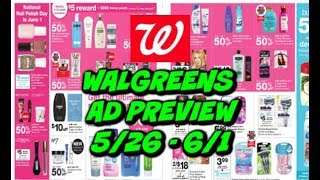 WALGREENS AD PREVIEW 5/26 - 6/1 | CHEAP TOOTHPASTE & DETERGENT