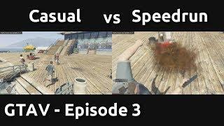 Casual VS Speedrun in GTAV #3 - Investing in the Future