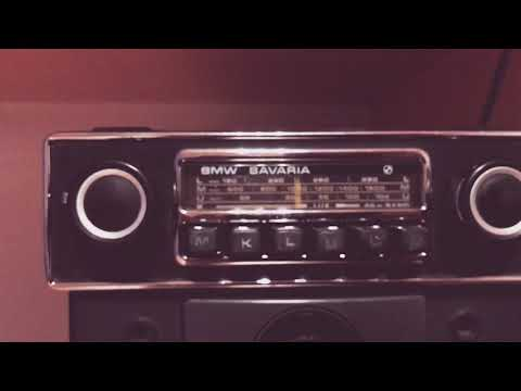 1972 BMW BAVARIA Vintage Radio